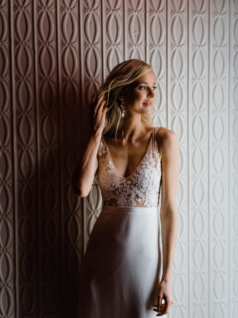 Rebecca Schoneveld Wedding Gown - Wilde Scout Photography