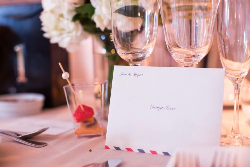 Jean & Bryan Wedding - Letter from Bride & Groom - Bronx Post Office by Karen Wise