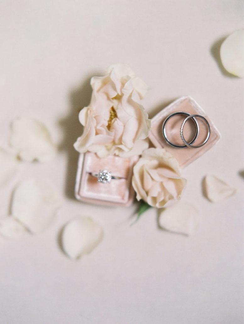 Maggie & Richard Wedding - Rings - Castle Hotel Tarrytown - by Sophie Kaye
