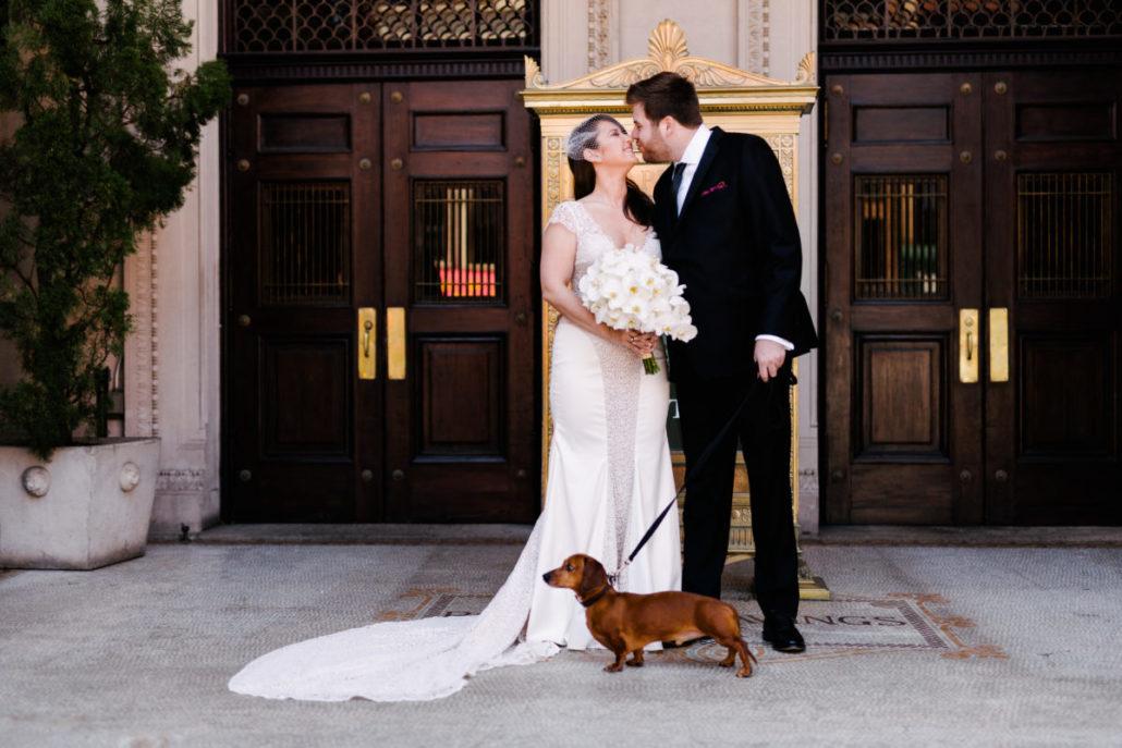 Claire & James Wedding - Bride Groom - Capitale - by Susan Shek