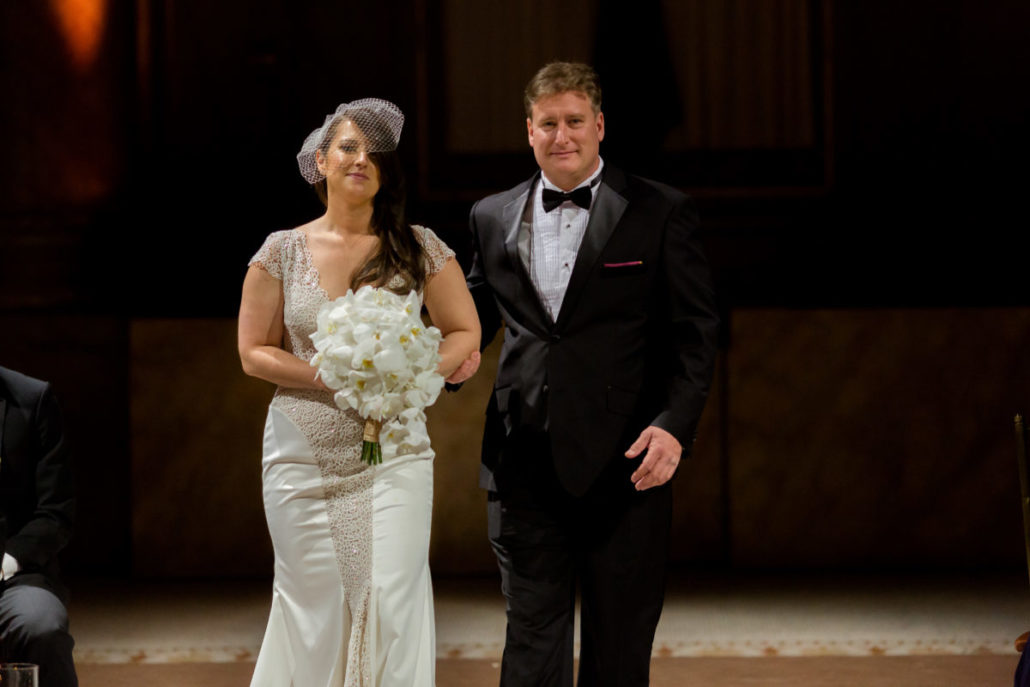 Claire & James - Wedding - Bride & Father - Capitale - by Susan-Shek
