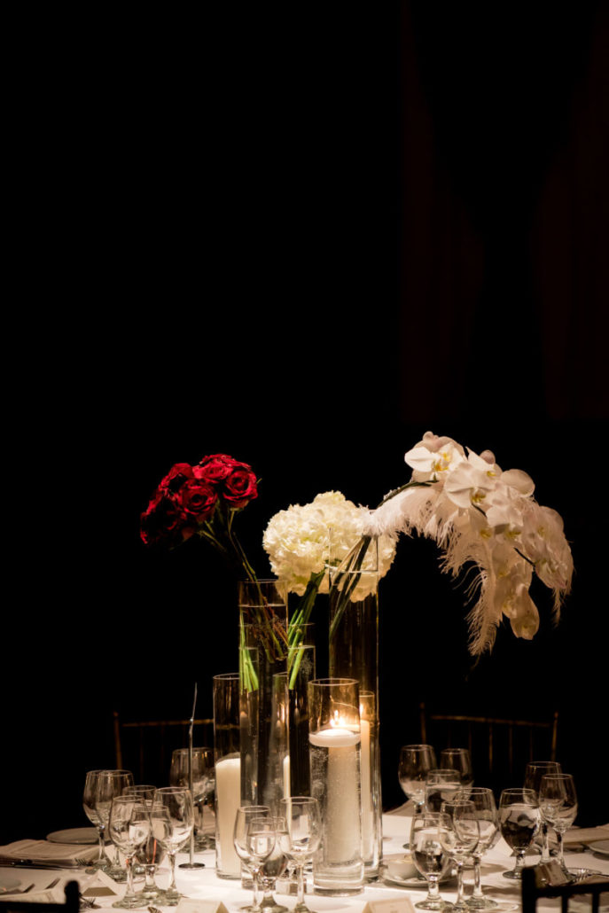 Claire & James Wedding - Centerpiece - Capitale - by- Susan Shek