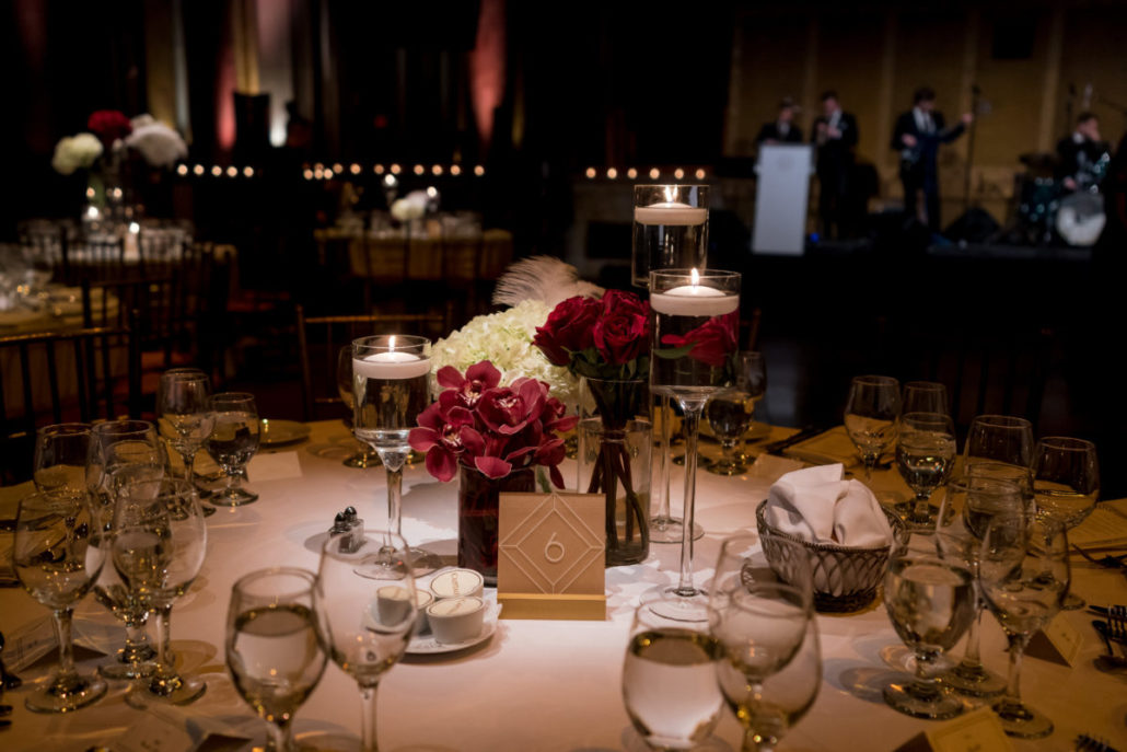 Claire & James Wedding - Centerpiece - Capitale - by Susan Shek