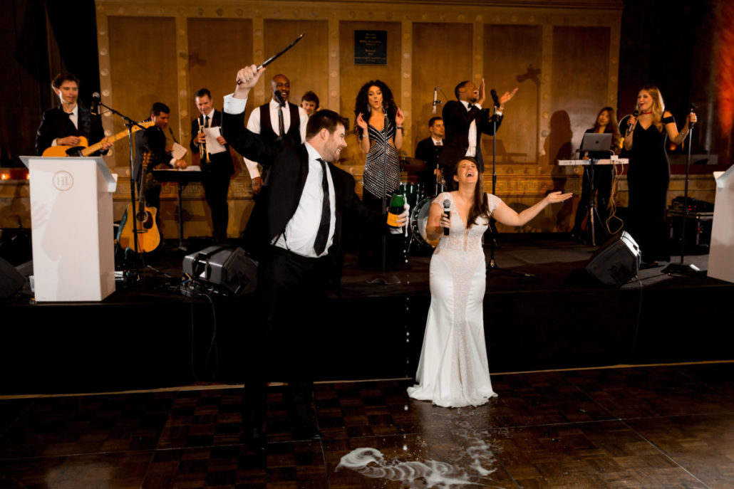 Claire & James Wedding - Champagne Ceremony - Capitale - Susan Shek Photography