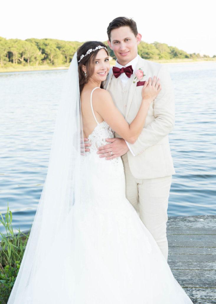 Kristen & Joe - Wedding - Bride Groom - Trumpets at the Gate - by Kim Mancuso