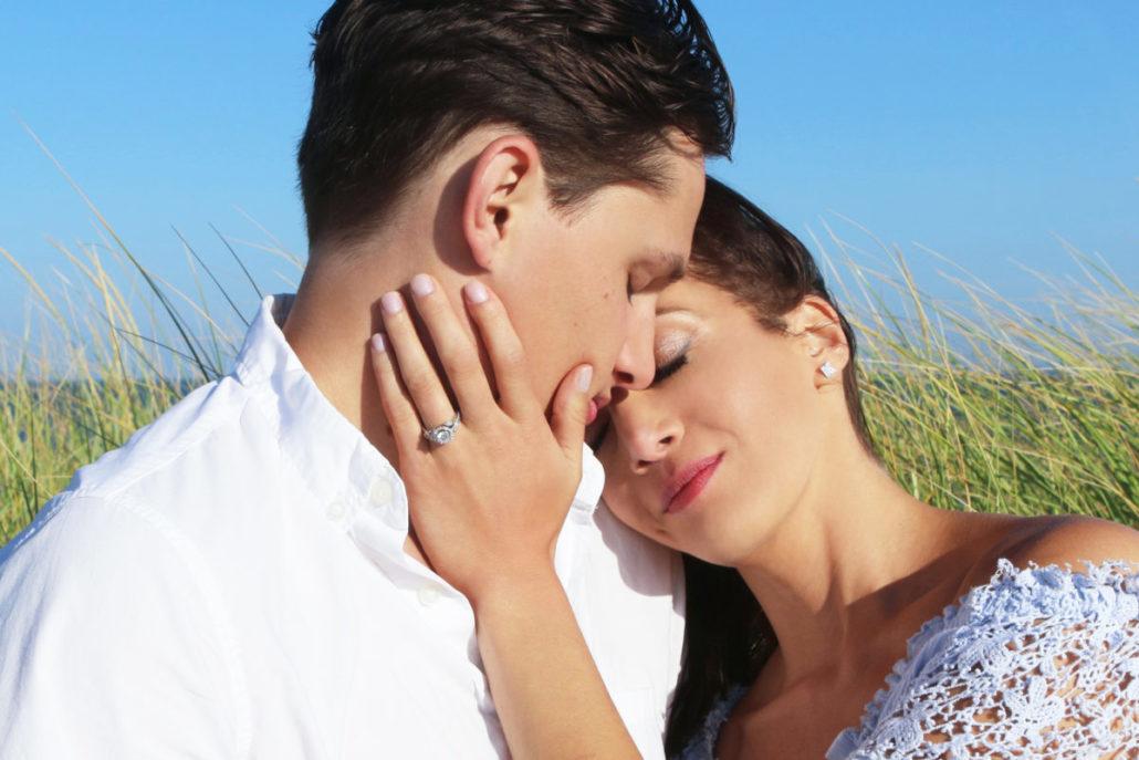 Kristen & Joe Wedding - Engagement Photo - courtesy of bride