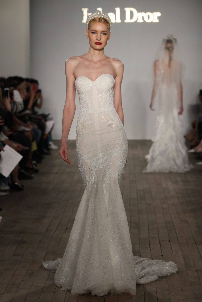 Inbal Dror - Wedding Dress - Fall Bridal Collection 2019 - via vogue.com