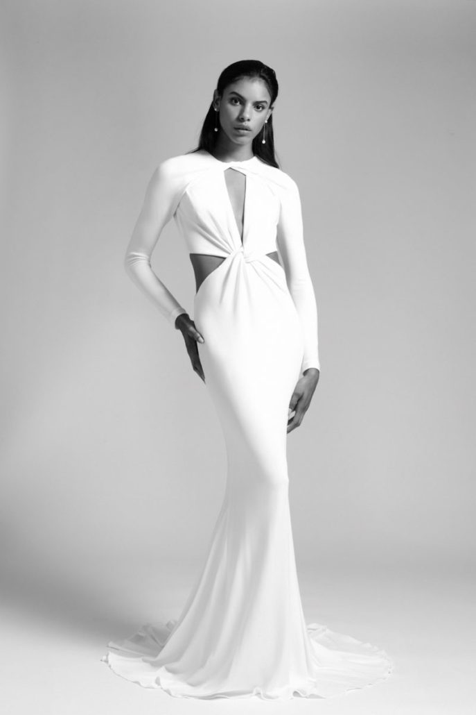 Cushnie - Wedding Dress - Fall Bridal Collection 2019 - via vogue.com