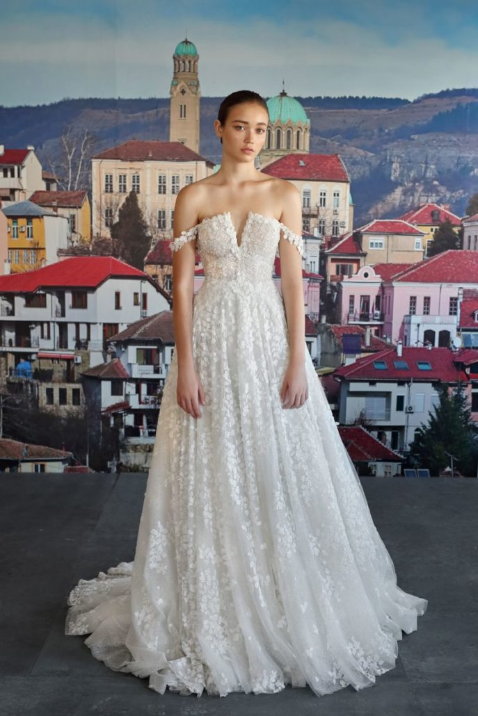 Galia Lahav - Wedding Dress - Fall Bridal Collection 2019 - via vogue.com