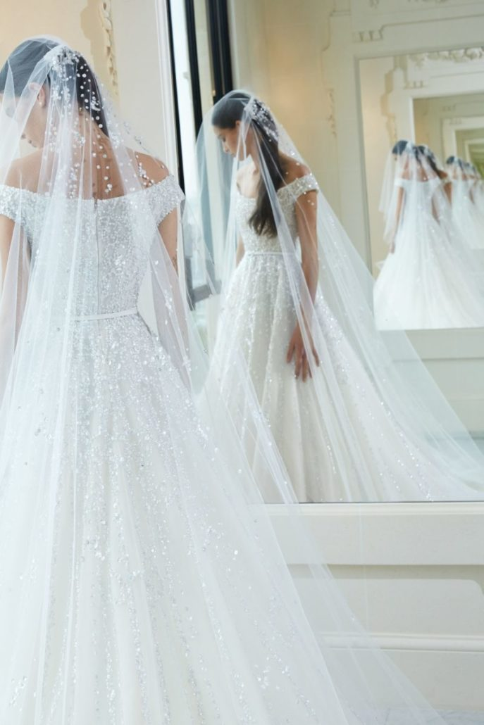 Elie Saab - Wedding Dress - Fall Bridal Collection 2019 - via vogue.com