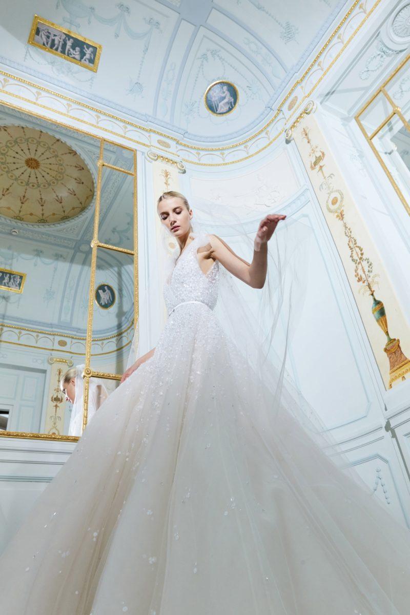 5bebd936eea6 Elie Saab – Wedding Dress – Fall Bridal Collection 2019 – via vogue.com