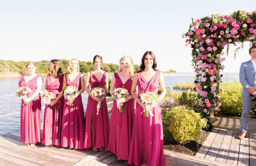 Kristen & Joe Wedding - Bridesmaids - Trumpets at the Gate - by Kim Mancuso