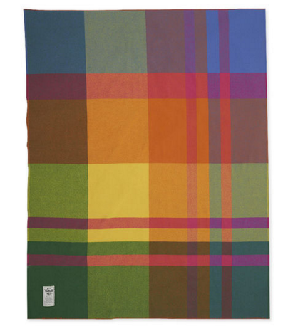 Woolrich Exploded Plaid Throw Blanket - via moma.orgWoolrich Exploded Plaid Throw Blanket - via moma.org