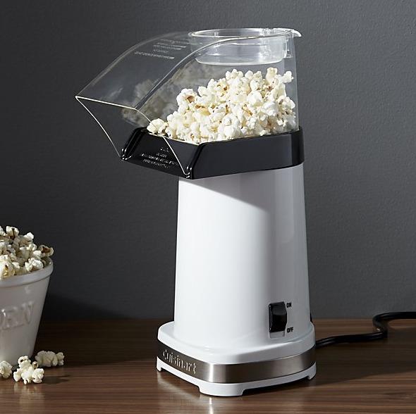 Cuisinart Hot Air Popcorn Maker - via crateandbarrel.com