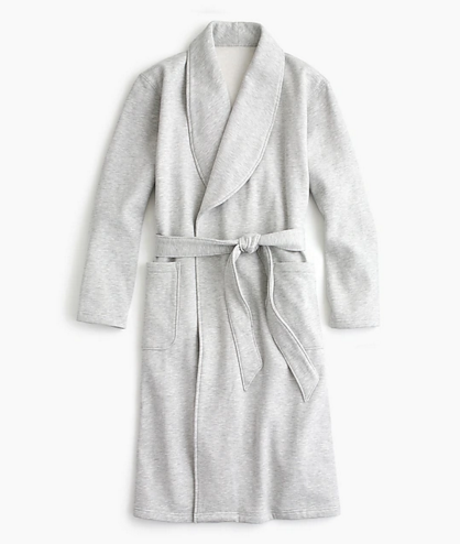 Fleece Robe - via jcrew.com