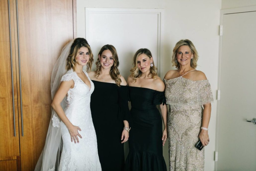 Lorenza & Pete Wedding - Bride Bridesmaids Mother of the Bride - New York Botanical Garden - by The Hons