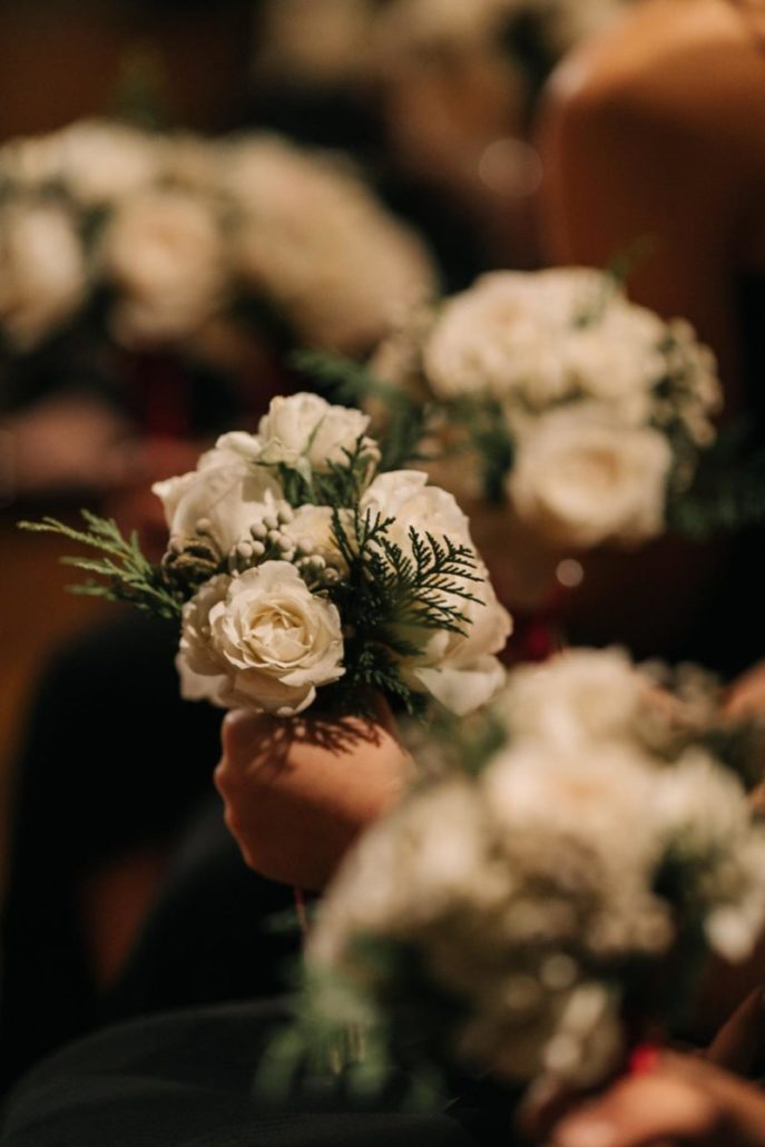 Lorenza & Pete Wedding - Bridesmaid Bouquet - Church of St. Paul the Apostle - by The Hons