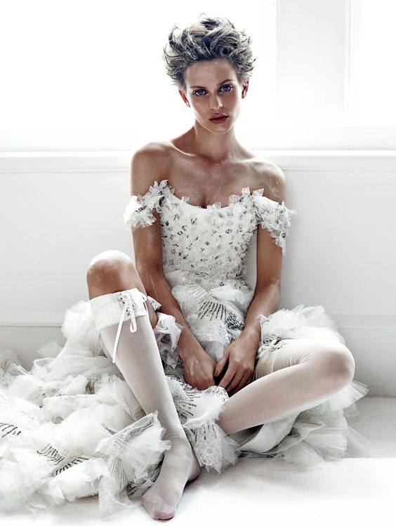 """Bridal Deluxe"" - by Patrick Demarchelier for Vogue Japan Wedding - via pinterest.com"