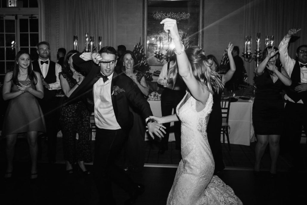 Lorenza & Pete Wedding - Bride Groom Dancing - NYBG - by the Hons