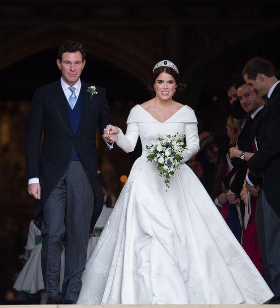 Princess Eugenie & Jack Brooksbanks Wedding - via townandcountrymag.com