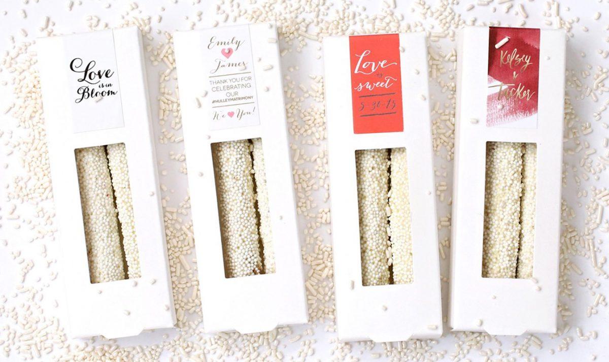 10 Amazing Wedding Favor Ideas – All Handmade In NYC   by