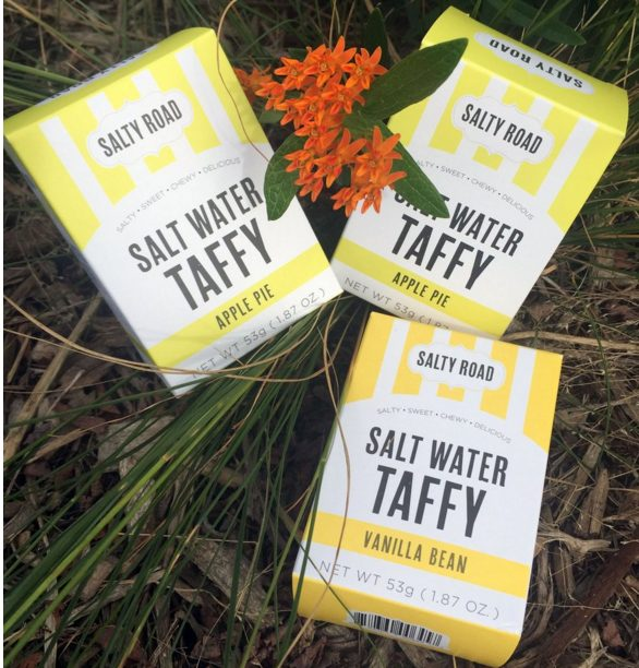Salty Road Taffy - NYC Made Wedding Favors - via thesaltyroad.com
