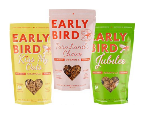 Early Bird Granola - NYC Made Wedding Favors - via earlybirdfoods.com