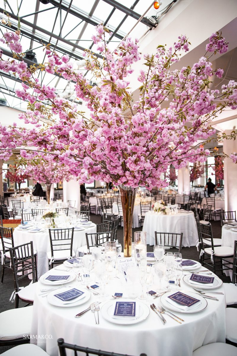 10 Stunning Wedding Flower Décor Ideas With Cherry Blossoms | by ...