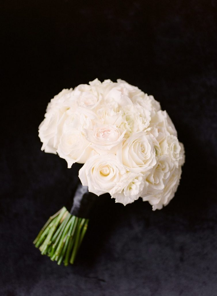 Ashley & Joe Wedding - Brides Bouquet - Wave Hill - Heather Waraksa Photography