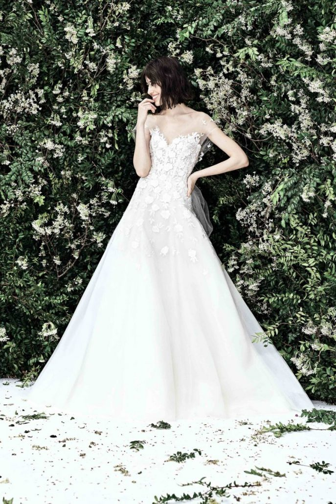 Carolina Herrera - New York Spring Bridal 2020 - via vogue.com