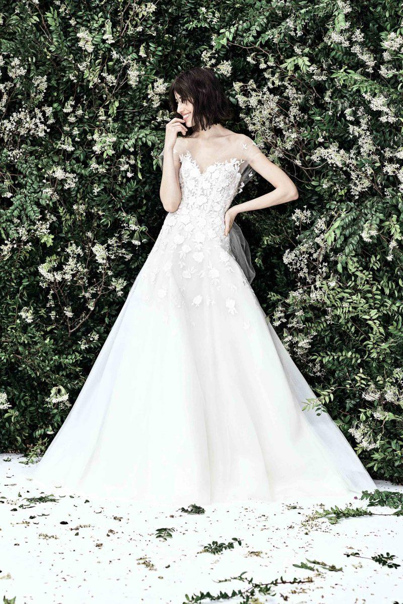 d9535289486 Carolina Herrera – New York Spring Bridal 2020 – via vogue.com