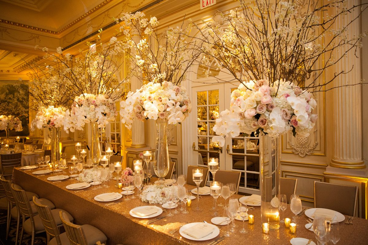 Bride Blossom Nyc Wedding Florist Upscale Wedding Flowers