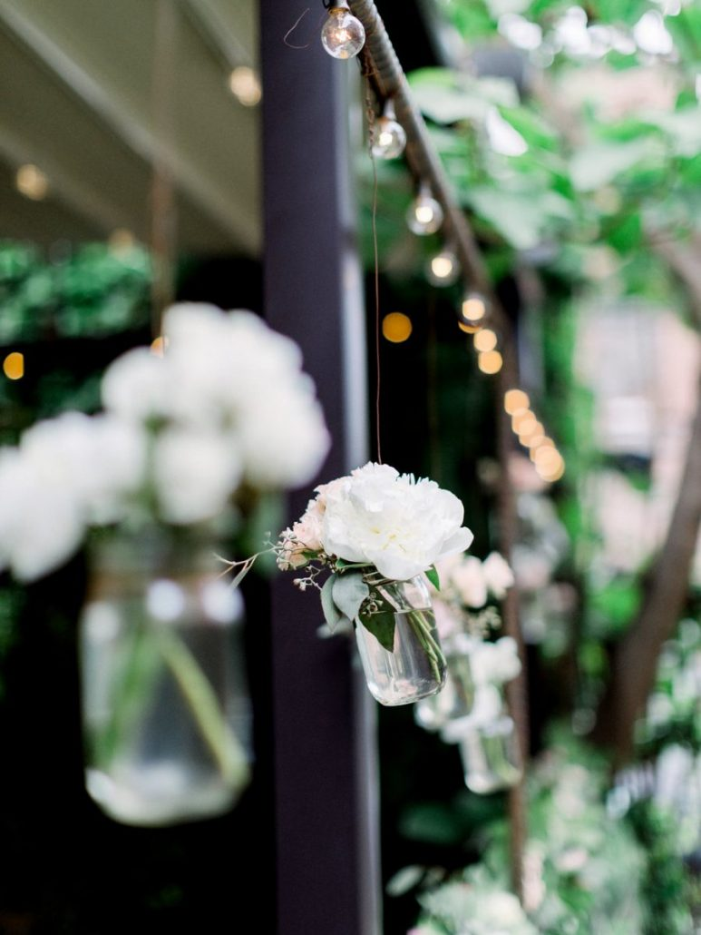 Tiffany & Allen Wedding - Hanging Flowers - MyMoon - by CLY by Chung