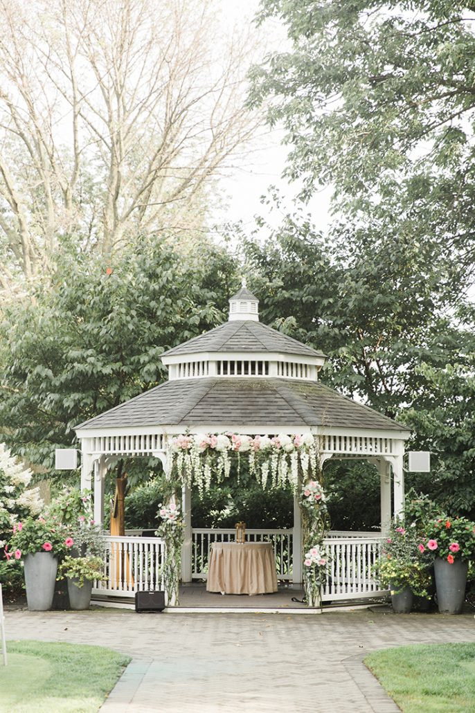 Petula & Sheldon Wedding - Gazebo - Dyker Beach Golf Course - Bashful Captures