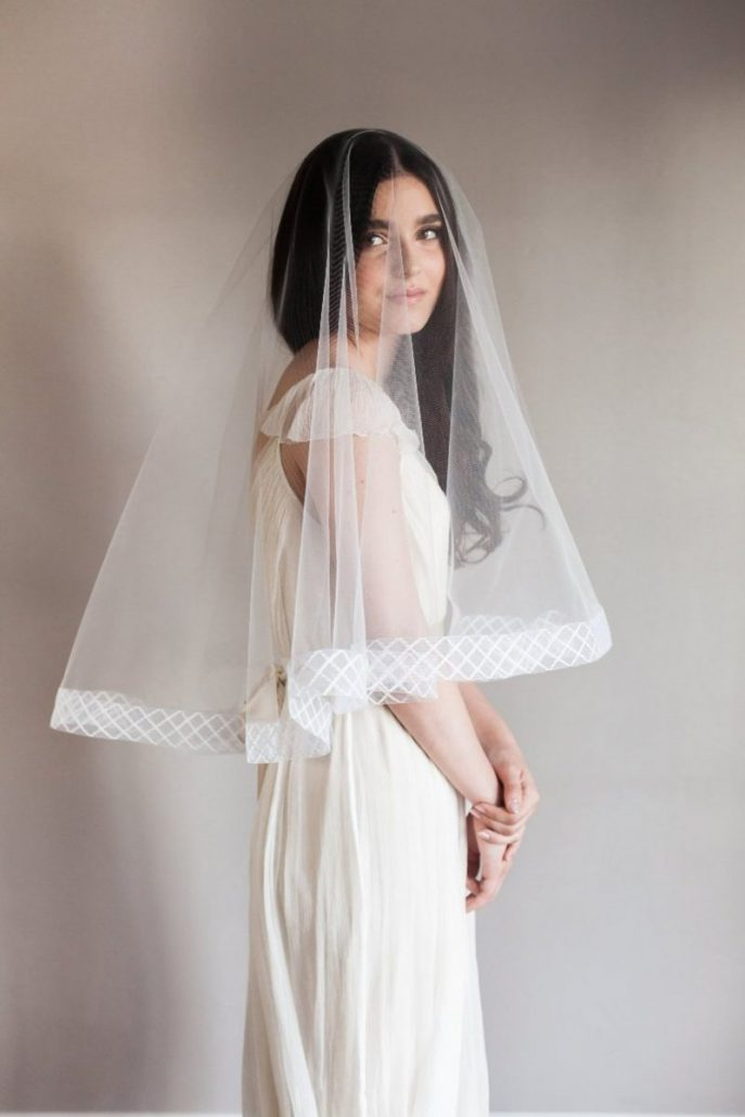 Bridal Veil by Smitha Menon Bridal - via etsy.com