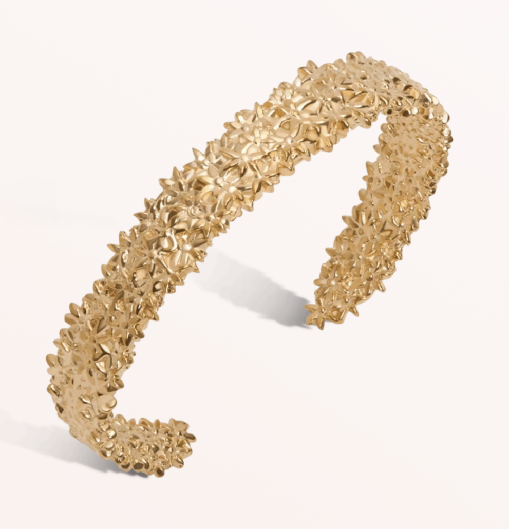 Aurate Flower Bracelet - via auratenewyork.com