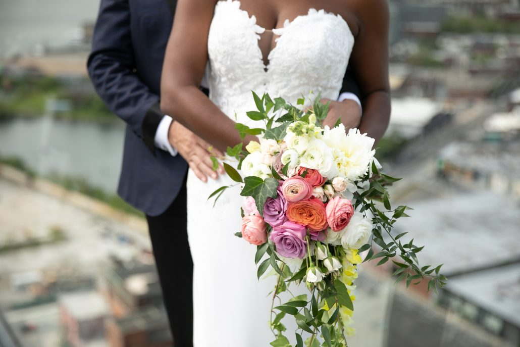 Heather & Amos Wedding - Brides Bouquet - William Vale - Jovon Photography