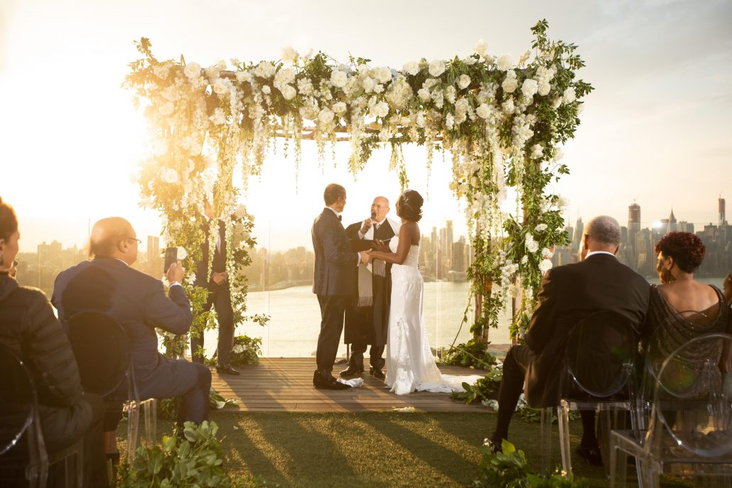 Heather & Amos Wedding - Chuppah Ceremony - William Vale - Jovon Photography
