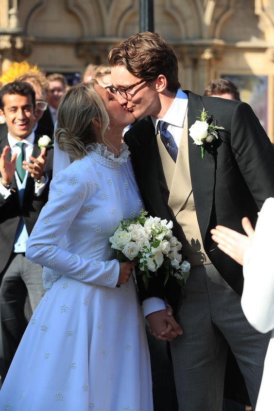 Ellie Goulding Jasper Jopling Wedding - via people.com