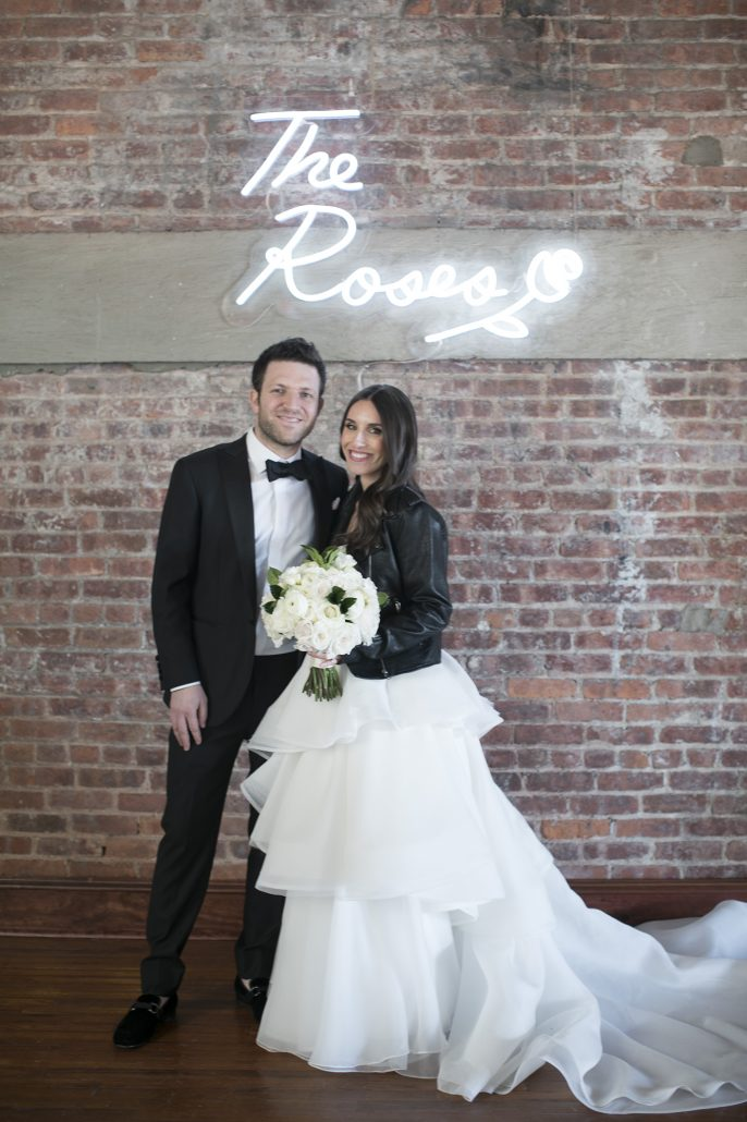 Marisa & Harland Wedding - Bride & Groom - Liberty Warehouse - by Mel Barlow