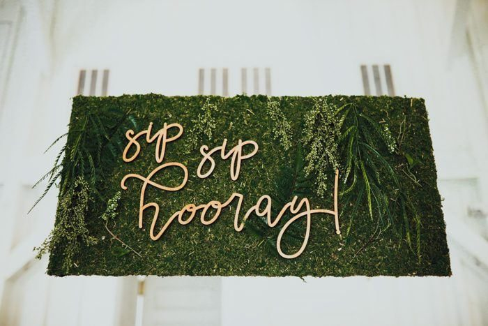 Wedding Bar Sign - via junebugweddings.com
