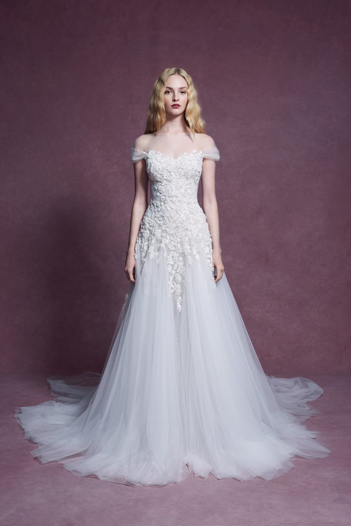 Marchesa - Bridal Fall 2020 - via vogue.com
