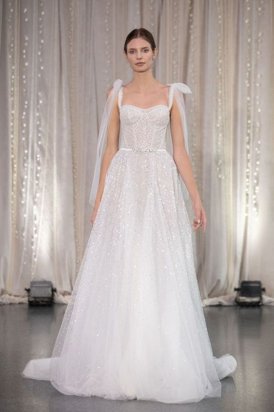 Lee Petra Grebenau - Bridal Fall 2020 - via brides.com