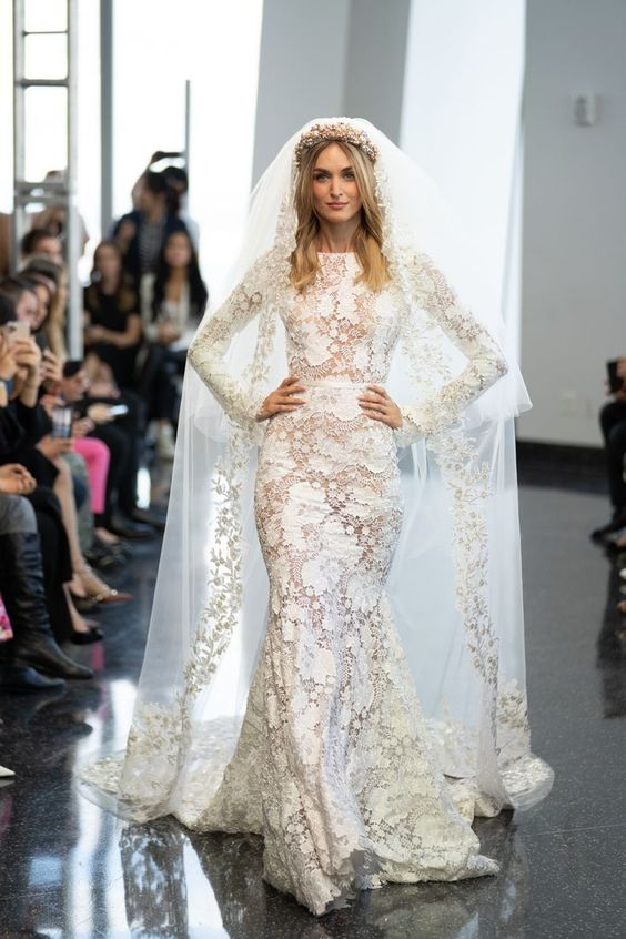 Berta - Bridal Fall 2020 - via brides.com