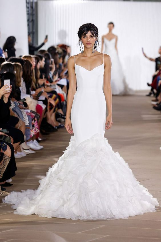 Ines Di Santo - Bridal Fall 2020 - via brides.com