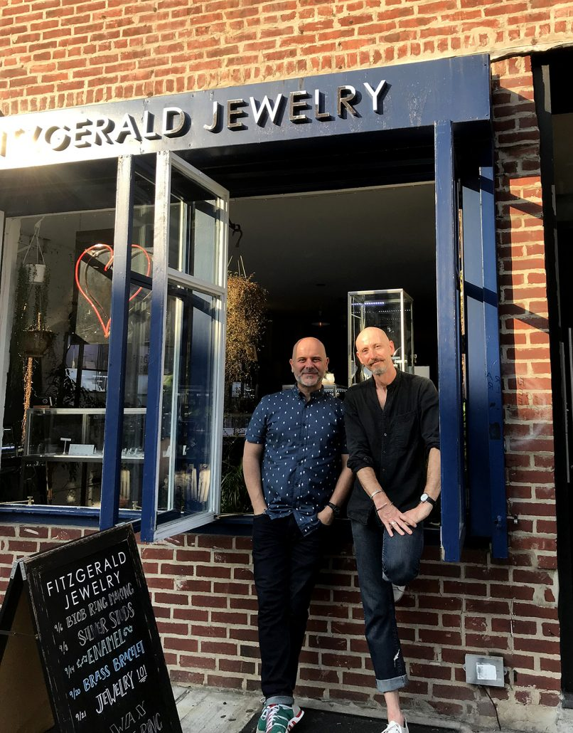 Michael Fitzgerald George Plionis - Designers Of Til Death Do Us Part Jewelry Collection
