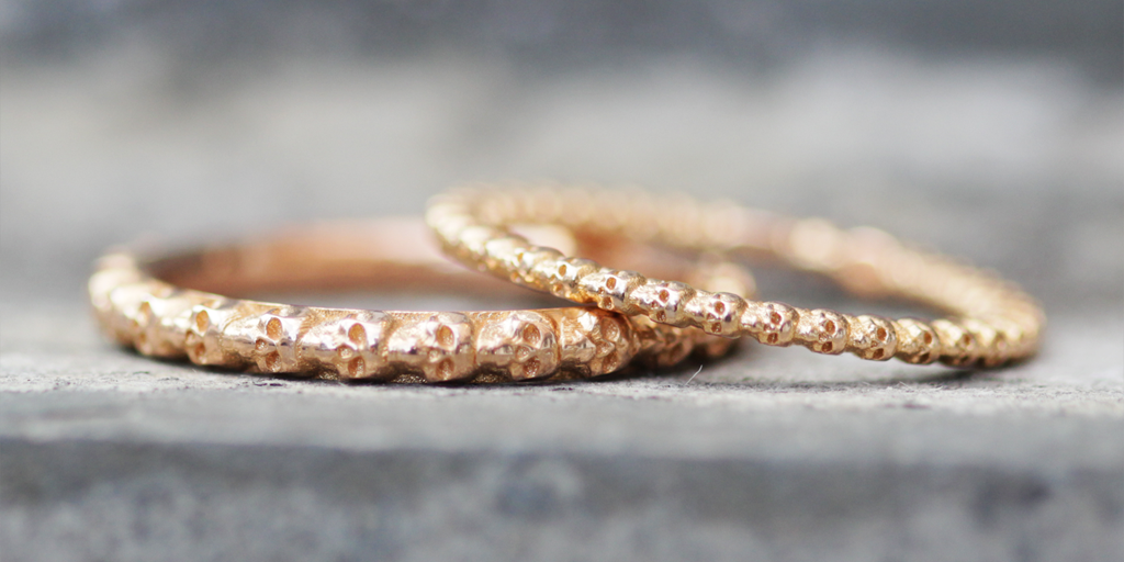 Truly Madly Deeply Wedding Bands - image courtesy of Fitzgerald Jewelry