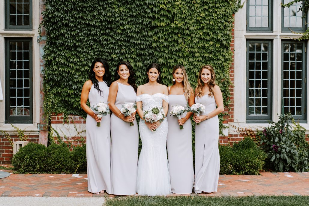 Lauren & Lou Wedding - Bridal Party Portait Bouquets - Natirar - Pat Furey Photography