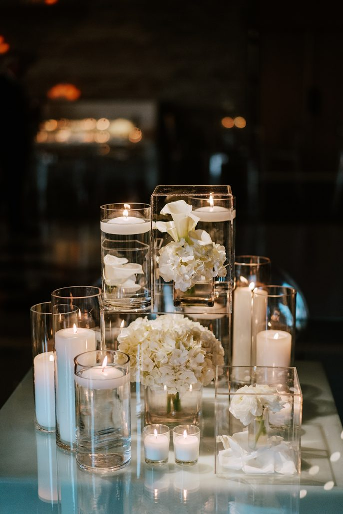 Lauren & Lou Wedding - Centerpiece - Natirar - Pat Furey Photography