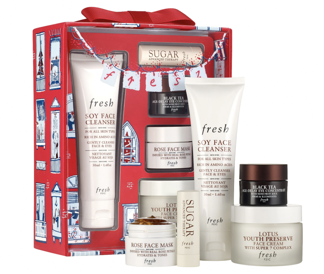 Fresh Evergreen Routine Gift Set - via sephora.com